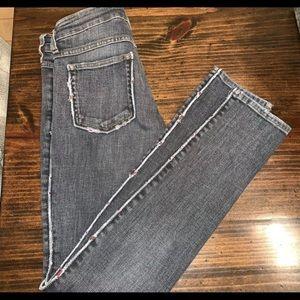 Isabel Marant Gray Stretch Skinny Jeans 25
